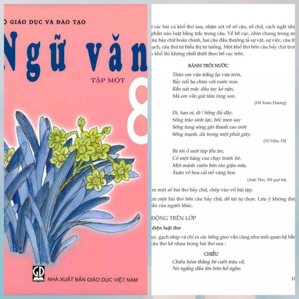 Khổ đầu bài thơ Tết quê bà trong SGK Ngữ văn 8