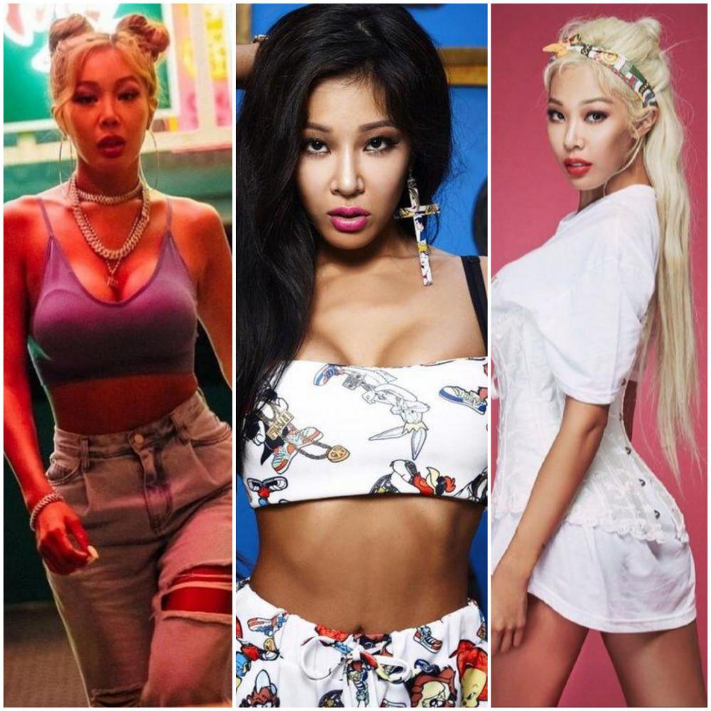 Chị đại làng rap Jessi chất lừ từ tính đến cho đến phong cách thời trang.