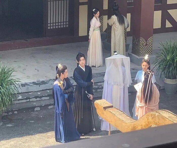 Tạo hình của loạt nhân vật trong Hạo y hành bị lộ sau 3 ngày quay