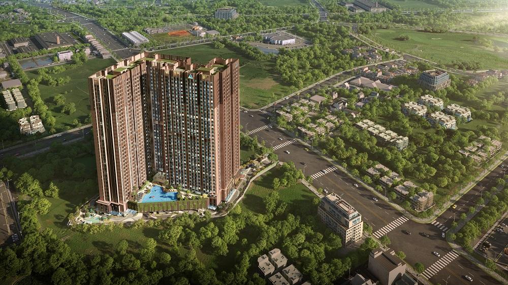 Phối cảnh khu căn hộ Opal Skyline - một dự án mới trên địa bàn thành phố trẻ Thuận An năng động và hiện đại