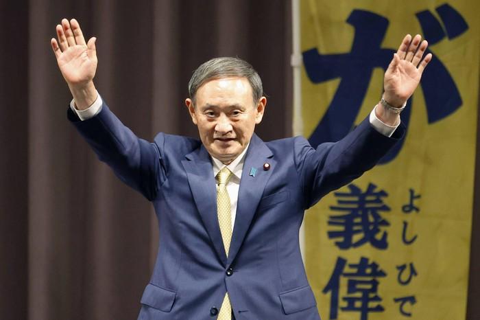 Không có nguồn gốc Hoàng tộc, song ông Suga vẫn chiến thắng thuyết phục trong cuộc bầu cử