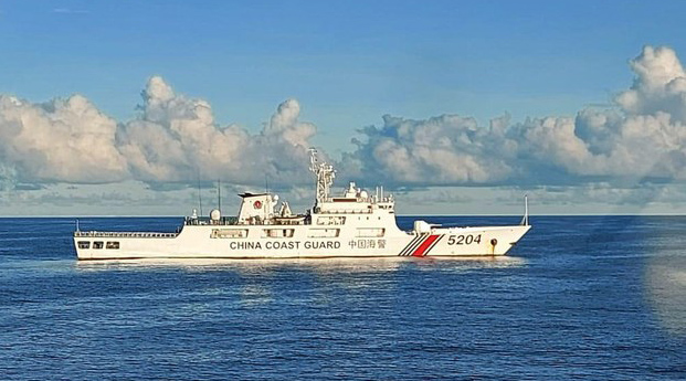 Tàu tuần duyên Trung Quốc xuất hiện trong vùng đặc quyền kinh tế của Indonesia suốt 3 ngày.