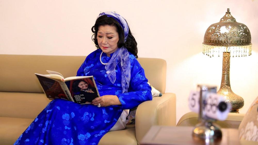 NSND Kim Cương và cuốn hồi ký về cuộc đời bà được xuất bản năm 2016