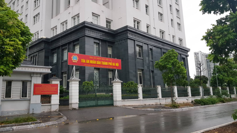 TAND TP Hà Nội, nơi diễn ra phiên xử kín.