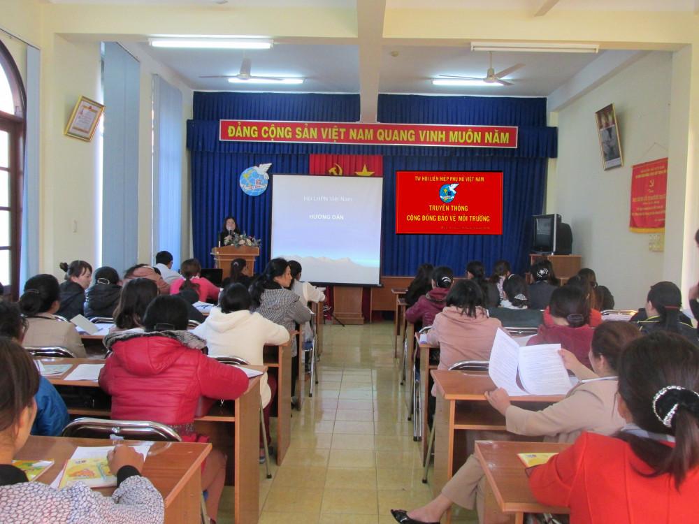 Truyền thông bảo vệ môi trường tại xã Hiệp An, huyện Đức Trọng, tỉnh Lâm Đồng