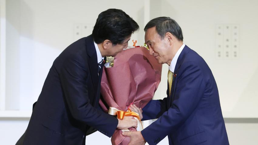 Thủ tướng Abe và nội các từ chức để dọn đường cho người kế nhiệm Yoshihide Suga - Ảnh: Japan Today