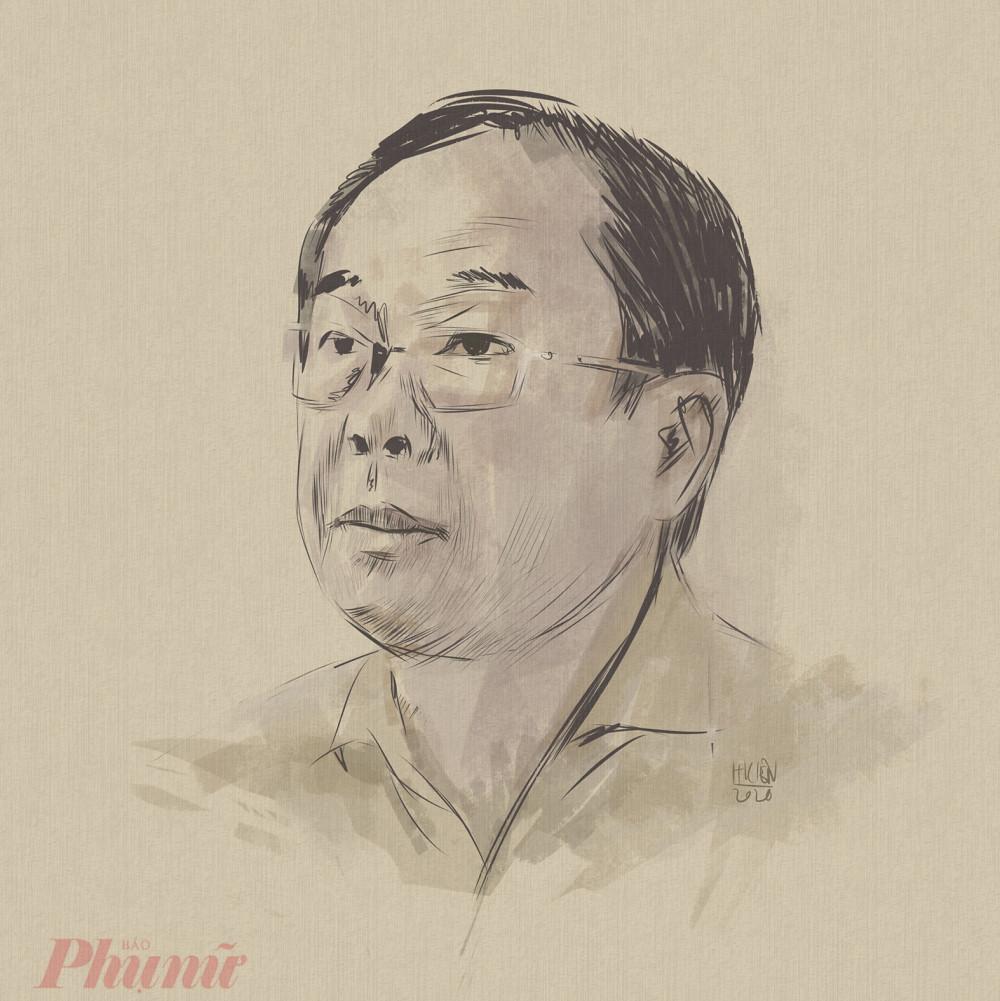 Ông Nguyễn Thành Tài xác nhận mình không có tài sản nào để kê biên - Ảnh: Hải Kiên