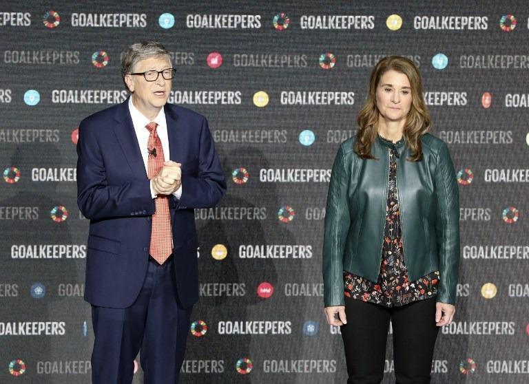 Báo cáo Goalkeepers 2020 do Quỹ Bill và Melinda Gates công bố cho thấy thế giới đã và đang bị ảnh hưởng nặng nề bởi đại dịch COVID-19. Ảnh: Ludovic Marin/AFP