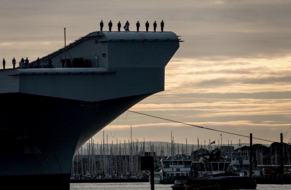 Anh có khả năng điều tàu sân bay HMS Queen Elizabeth đến khu vực Biển Đông trong tương lai gần.