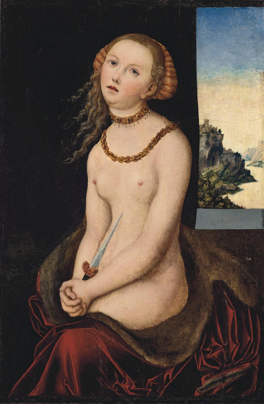Tranh của họa sĩ thời phục hưng Lucas Cranach cũng nằng trong danh sách 12 tác phẩm được bán đấu giá