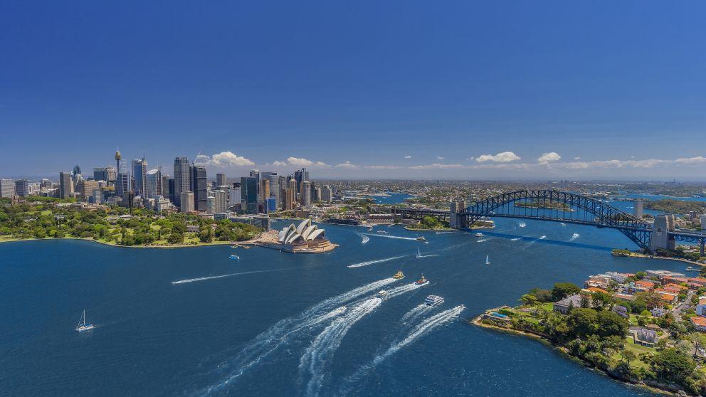 Toàn cảnh cảng Sydney