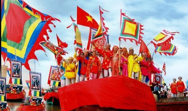 Lễ hội Nghinh Ông - Cần Giờ là một hoạt động văn hoá quen thuộc tại TPHCM