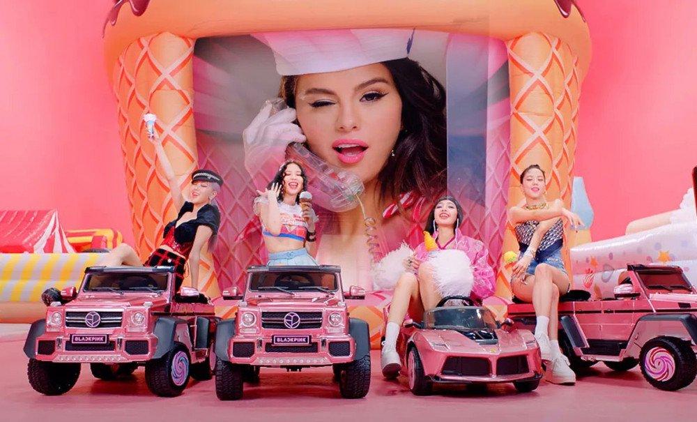 Ice Cream sản phẩm kết hợp giữa Blackpink và Selena Gomez liên tiếp giành thứ hạng cao tại các bảng xếp hạng nước ngoài.