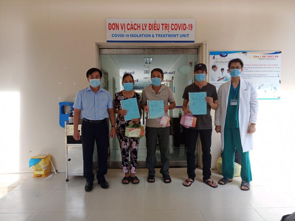 Đến thời điểm hiện tại, Quảng Nam chỉ còn lại 7 bệnh nhân mắc COVID-19 đã chữa khỏi cho 75 bệnhnnhaan mắc COVID- 19