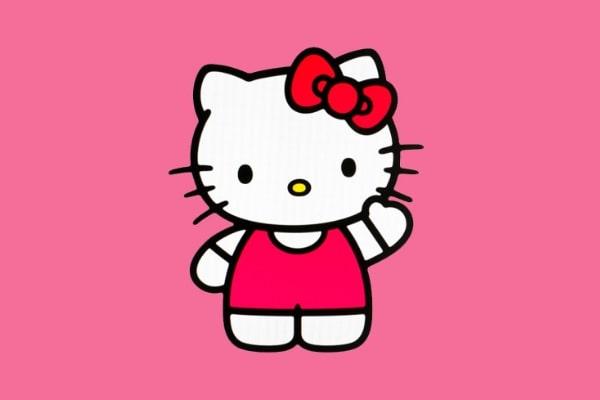 Cô mèo ảo Hello Kitty