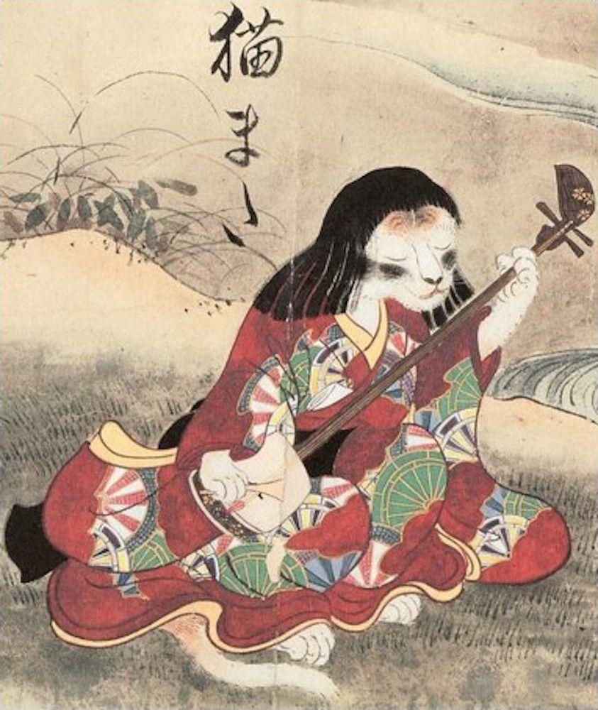 Hình tượng mèo Nekomata