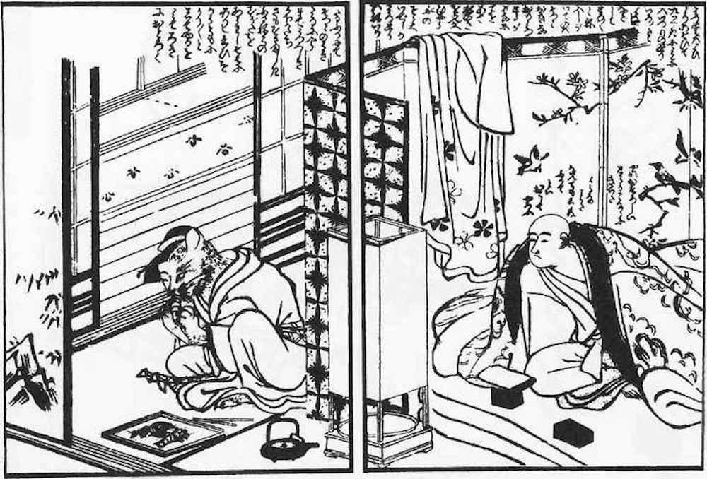 Mèo Bakeneko hóa thành kỹ nữ