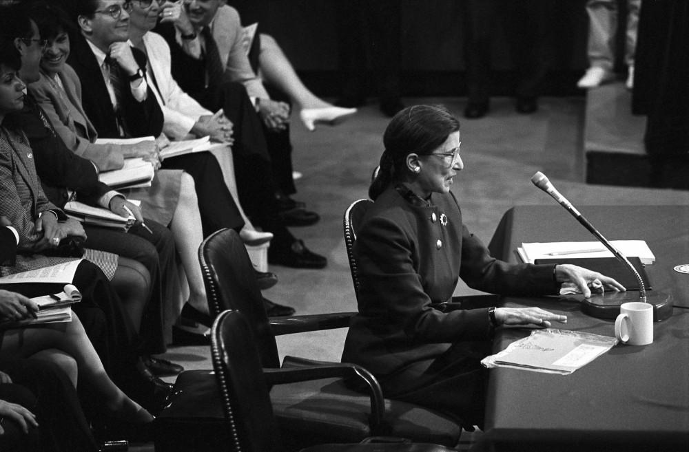 Ngày18/9/2020, Tòa án Tối cao Hoa Kỳ thông báo phẩm phán Ruth Bader Ginsburg đã qua đời ở tuổi 87 vì ung thư tụy - Ảnh: New York Times