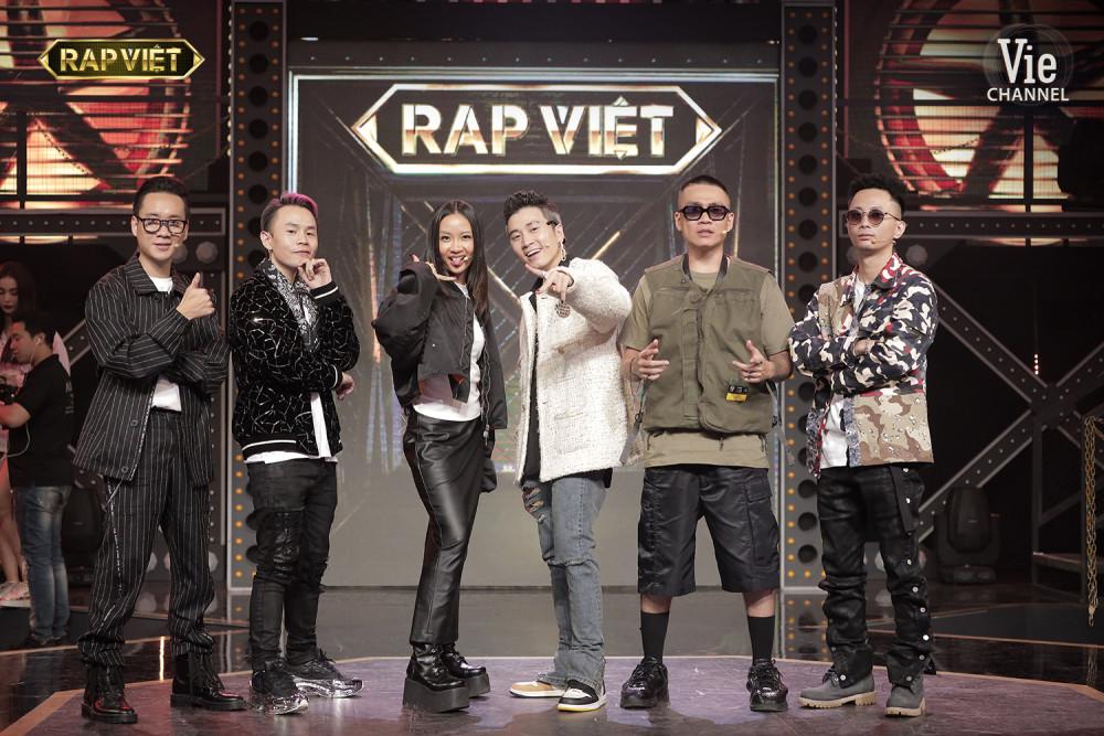 Rap Việt là chương trình đang được chú ý của Vie Channel.