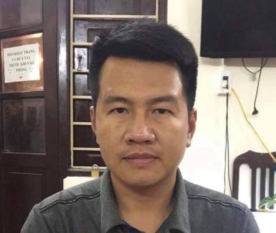 Nguyễn Phú Cường tại cơ quan điều tra