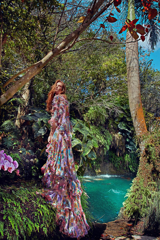Alexina Graham lôi cuốn trong series ảnh thời trang của nhiếp ảnh gia Eduardo Rezende. (Ảnh: NYPost)