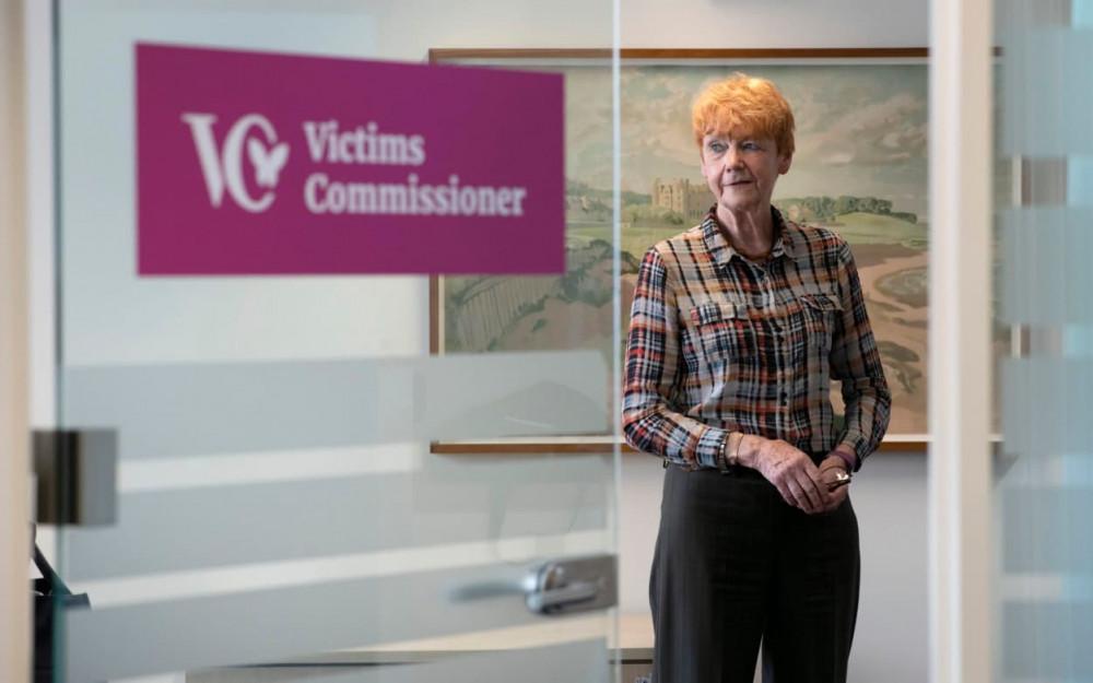 Dame Vera Baird, Ủy viên về Nạn nhân của Anh và Xứ Wales, cho biết các nạn nhân thường không được hỏi ý kiến về các yêu cầu ngoài tòa án