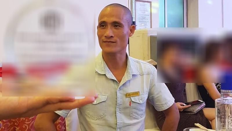 Bị can Nguyễn Xuân Cường.