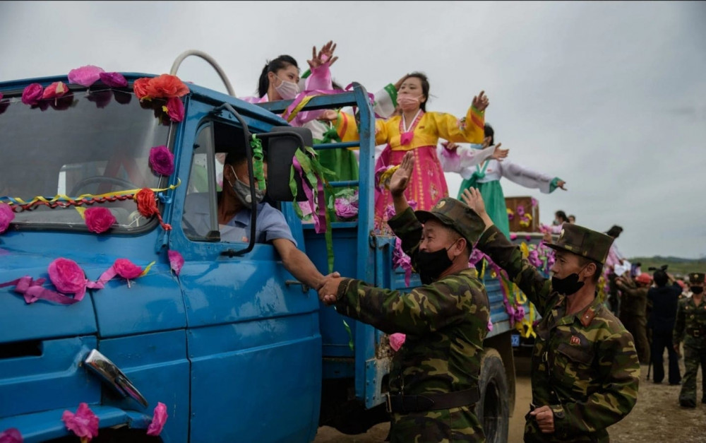 Cuộc sống yên bình, vui vẻ của người dân Triều Tiên