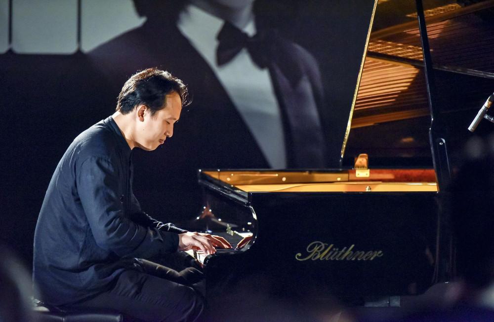Nghệ sĩ piano Nguyễn Đức Anh từng có 8 năm học tập tại Đức.