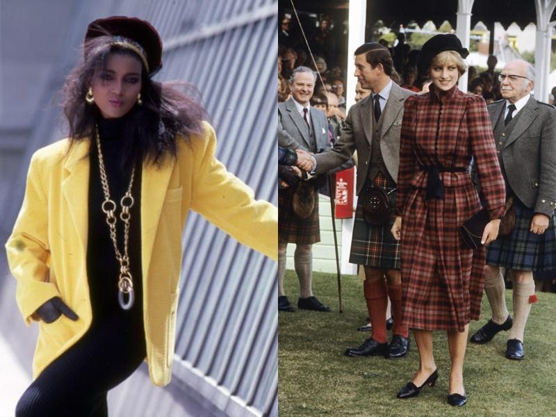 Năm 1980: Trang phục có màu sắc đậm, tươi sáng đã trở thành mốt. Phụ nữ cũng mặc sự kết hợp giữa phong cách vừa vặn và rộng rãi trong suốt năm 1980, và kết hợp quần áo của họ với trang sức chunky. Năm 181, mọi phụ nữ đều thích mặc áo có cầu vai như một cách để khẳng định vẻ đẹp.