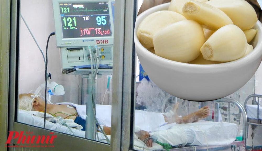 Bệnh nhân uốn ván thở máy tại Bệnh viện Bệnh Nhiệt đới TPHCM.
