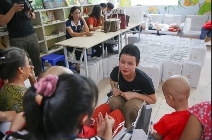 Thủy Tiên tham gia nhiều hoạt động xã hội, truyền cảm hứng cho cộng đồng. Ảnh do THP cung cấp