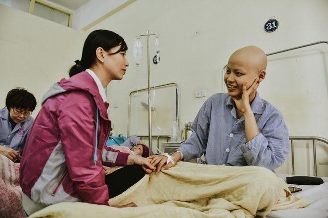 Tinh thần lạc quan đã giúp Tiên mạnh mẽ hơn trước bệnh tật. Ảnh do THP cung cấp