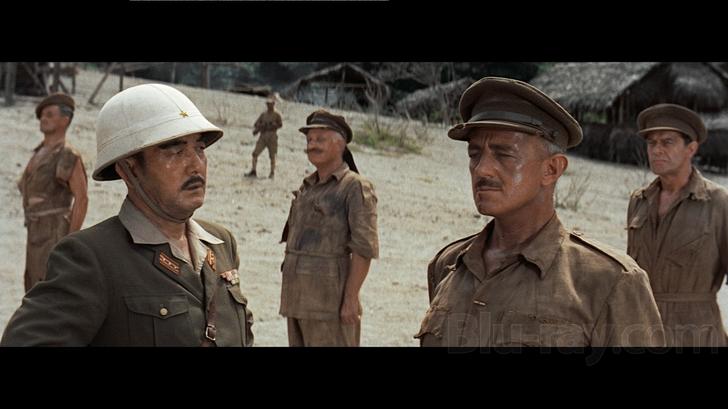 Saito và Nicholson trên phim