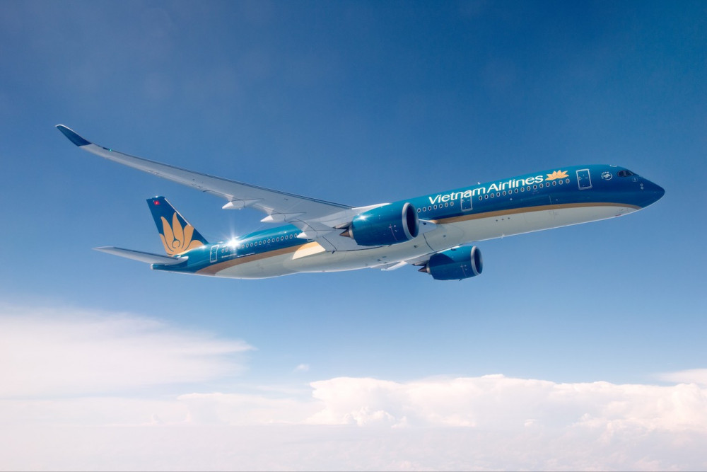 Hãng hàng không Vietnam Airlines mở lại đường bay với Hàn Quốc.