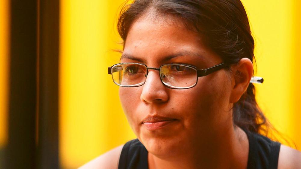 Cô Cindy Erazo vừa được trả tự do sau khi đã phải ngồi tù 6 năm với tội giết người do sảy thai - Ảnh: Centro de Derechos Reproductivos
