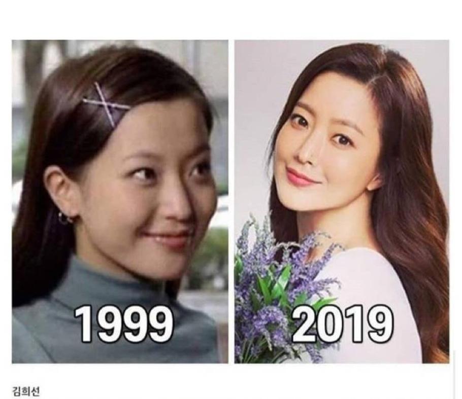 Hơn 20 năm gia nhập làng giải trí, Kim Hee Sun vẫn luôn là một trong những mỹ nhân được công chúng ngưỡng mộ.