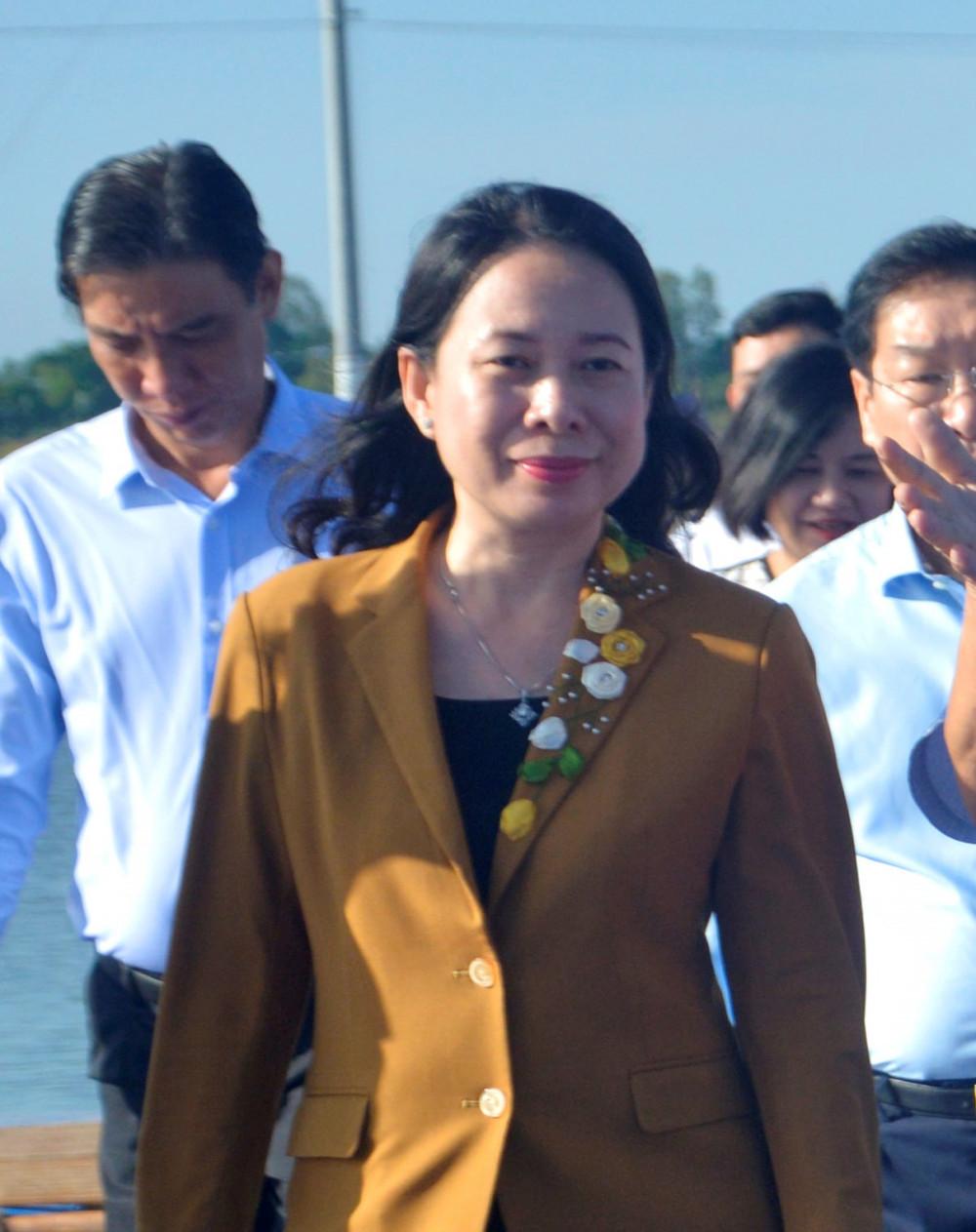 Bà Võ Thị Ánh Xuân