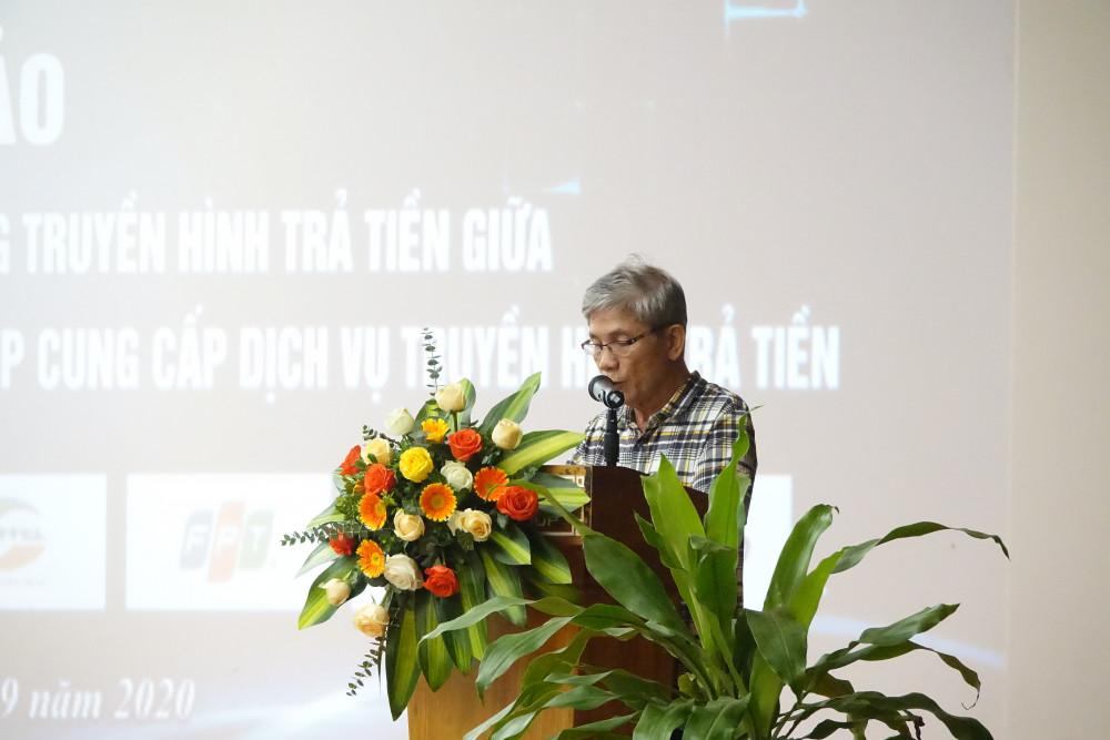 Ông Lê Đình Cường - Phó Chủ tịch Hiệp hội Truyền hình Trả tiền Việt Nam,