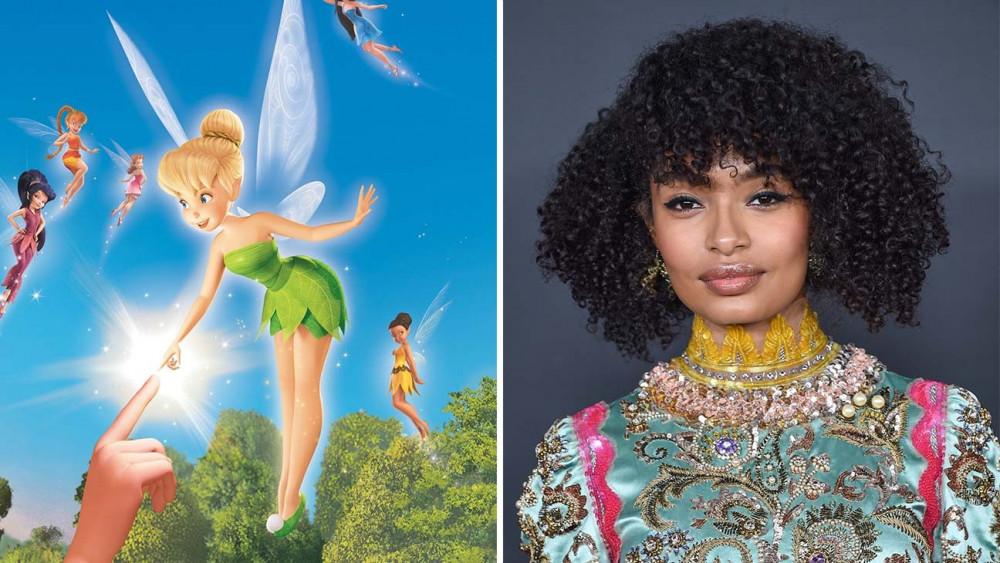 Yara Shahidi và nhân vật Tinker Bell mà cô sẽ đảm vai.