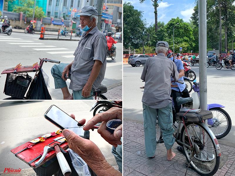 Ông Hoàng Thiên, 74 tuổi, từ Hải Phòng vào Sài Gòn được 28 năm hơn