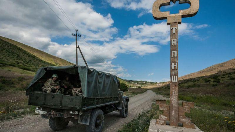 Tranh chấp khu vực Nagorno-Karabakh giữa hai nước đã kéo dài bốn thập kỷ - Ảnh: BBC/Getty Images