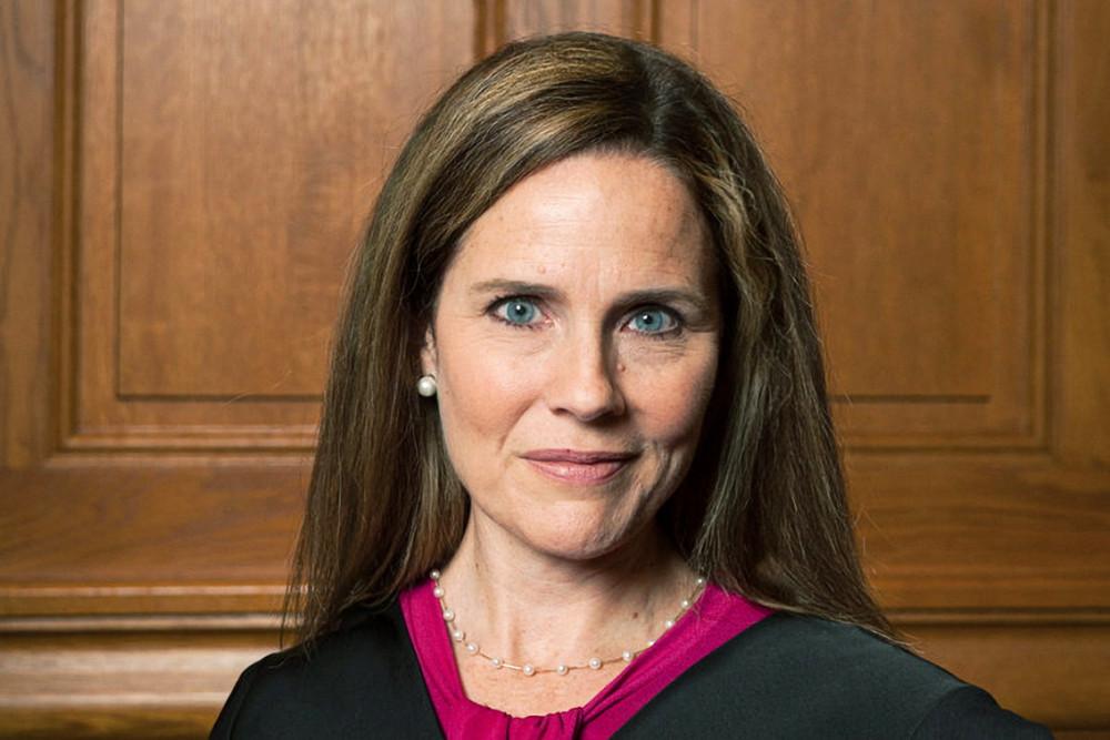 Bà Amy Coney Barrett, người được Tổng thống Trump đề cử cho vị trí thẩm phán  ở Tối cao pháp viện - Ảnh: Getty Images