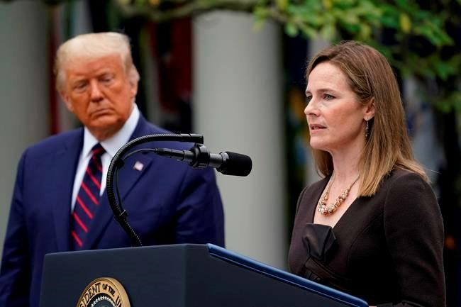 Tổng thống Donald Trump tiến cử Amy Coney Barrett làm Thẩm phán mới của Tòa án Tối cao