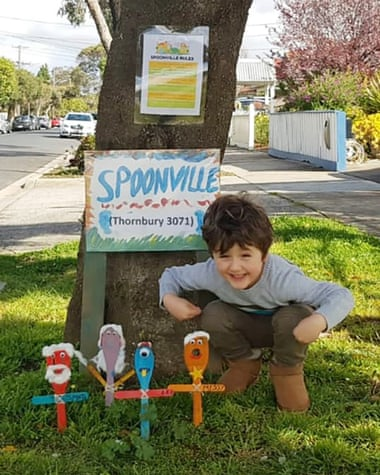 Percie, 5 tuổi, cải thiện chứng tự kỷ nhờ sáng kiến thành phố thìa.