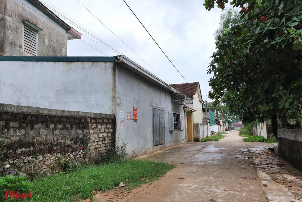 Một góc xóm Liên Giang