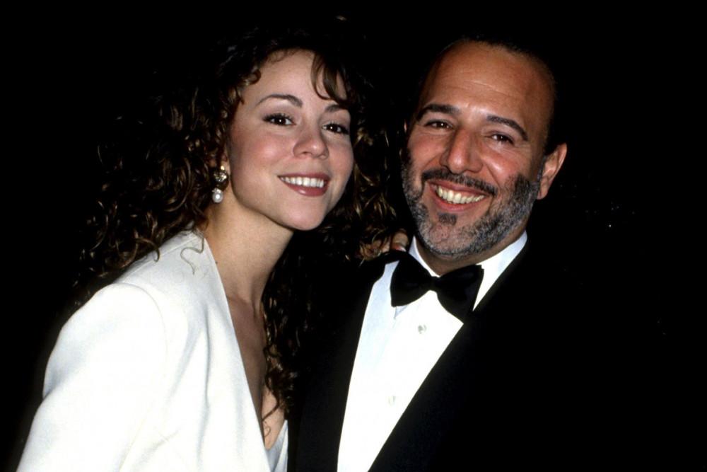 Nữ ca sĩ và người chồng đầu tiên Tommy Mottola những ngày hạnh phúc.