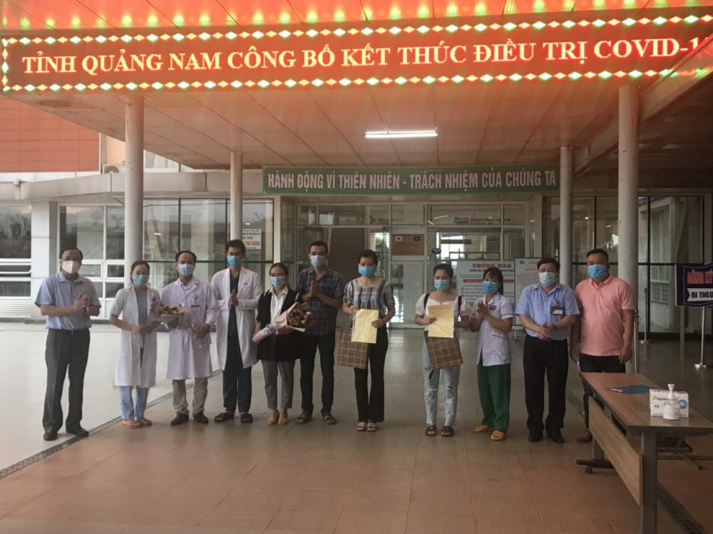 4 người mắc COVID-19 tại Quảng Nam đã được công bố khỏi bệnh, tỉnh này đã sạch bóng COVID-19