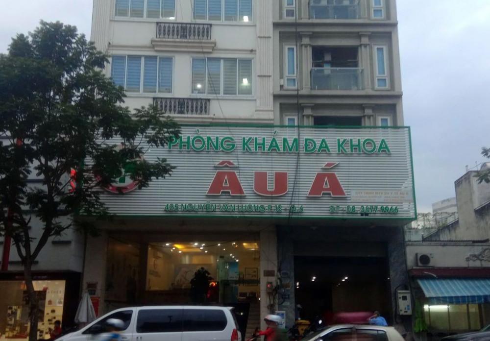 Công ty TNHH một thành viên dịch vụ y tế Âu Á (425 Nguyễn Văn Luông, phường 12, quận 6) - nơi thuê mượn chứng chỉ hành nghề của bác sĩ Quang