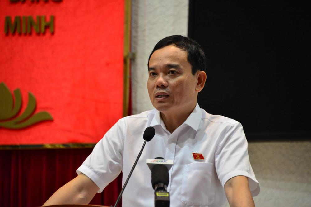 Ông Trần Lưu Quang cho biết, trong nhiệm kỳ tới, thành phố có 2 đề án lớn liên quan đến giao thông và chống ngập sẽ được thực hiện,